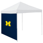 Michigan Tent Side Panel w/ Wolverines Logo - Logo Brand