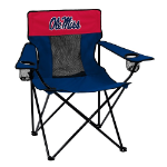 Ole Miss Elite Chair w/ Rebels Logo