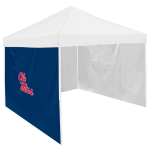 Ole Miss Tent Side Panel w/ Rebels Logo - Logo Brand