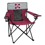 Mississippi State Elite Chair w/ Bulldogs Logo