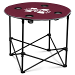 Mississippi State Bulldogs Round Tailgating Table