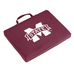 Mississippi State Seat Cushion w/ Bulldogs Logo - Stadium
