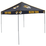 Missouri Tent w/ Tigers Logo - 9 x 9 Solid Color Canopy
