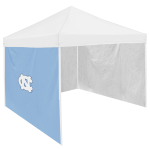 North Carolina Tent Side Panel w/ Tar Heels Logo - Logo Brand
