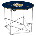 Notre Dame Fighting Irish Round Tailgating Table