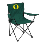 Oregon Quad Chair w/ Ducks Logo