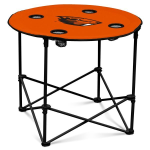 Oregon State Beavers Round Tailgating Table