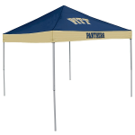 Pittsburgh Tent w/ Panthers Logo - 9 x 9 Economy Canopy
