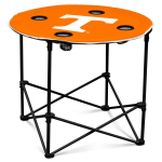 Tennessee Volunteers Round Tailgating Table