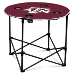 Texas A&M Aggies Round Tailgating Table