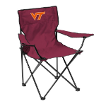 Virginia Tech Quad Chair w/ Hokies Logo