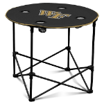 Wake Forest Demon Deacons Round Tailgating Table