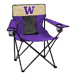 Washington Elite Chair w/ Huskies Logo