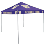 Washington Tent w/ Huskies Logo - 9 x 9 Solid Color Canopy