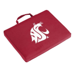 Washington State Seat Cushion w/ Cougars logo