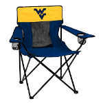 West Virginia Elite Chair w/ Mountaineers Logo
