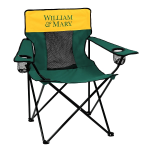 William & Mary Elite Chair w/ Tribe Logo