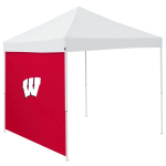 Wisconsin Tent Side Panel w/ Badgers Logo - Logo Brand
