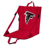 Atlanta Stadium Seat w/ Falcons Logo - Cushioned Back
