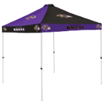 Baltimore Tent w/ Ravens Logo - 9 x 9 Checkerboard Canopy