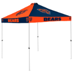 Chicago Tent w/ Bears Logo - 9 x 9 Checkerboard Canopy