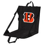 Cincinnati Stadium Seat w/ Bengals Logo - Cushioned Back