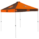 Cleveland Tent w/ Browns Logo - 9 x 9 Checkerboard Canopy