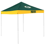 Green Bay Tent w/ Packers Logo - 9 x 9 Economy Canopy