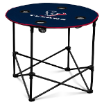 Houston Texans Round Tailgating Table