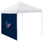 Houston Tent Side Panel w/ Texans Logo - Logo Brand