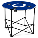 Indianapolis Colts Round Tailgating Table