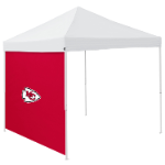 Kansas City Tent Side Panel w/ Chiefs Logo - Logo Brand