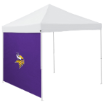 Minnesota Tent Side Panel w/ Vikings Logo - Logo Brand