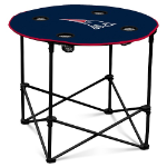 New England Patriots Round Tailgating Table