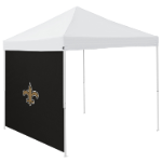 New Orleans Tent Side Panel w/ Saints Logo - Logo Brand