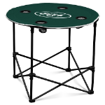 New York Jets Round Tailgating Table