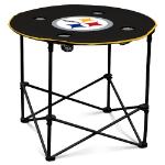 Pittsburgh Steelers Round Tailgating Table
