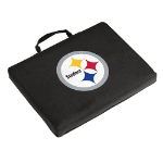 Pittsburgh Seat Cushion w/ Steelers logo