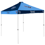 Tennessee Tent w/ Titans Logo - 9 x 9 Checkerboard Canopy