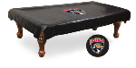 Florida Pool Table Cover w/ Panthers Logo - Black Vinyl