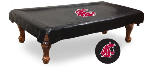 Washington State Pool Table Cover w/ Cougars Logo - Vinyl