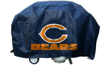 Chicago Grill Cover with Bears Logo on Blue Vinyl - Deluxe