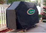 Florida Grill Cover with Gators Logo on Black Vinyl
