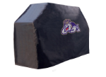 James Madison Grill Cover with Dukes Logo on Black Vinyl