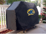 Kent State Grill Cover with Golden Flashes Logo on Black Vinyl