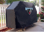 Maine Grill Cover with Black Bears Logo on Black Vinyl