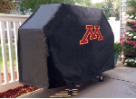 Minnesota Grill Cover with Golden Gophers Logo on Black Vinyl