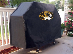 Missouri Grill Cover with Tigers Logo on Black Vinyl