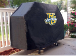 Marquette Grill Cover with Golden Eagles Logo on Black Vinyl