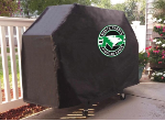 North Dakota Grill Cover with ND Logo on Black Vinyl
